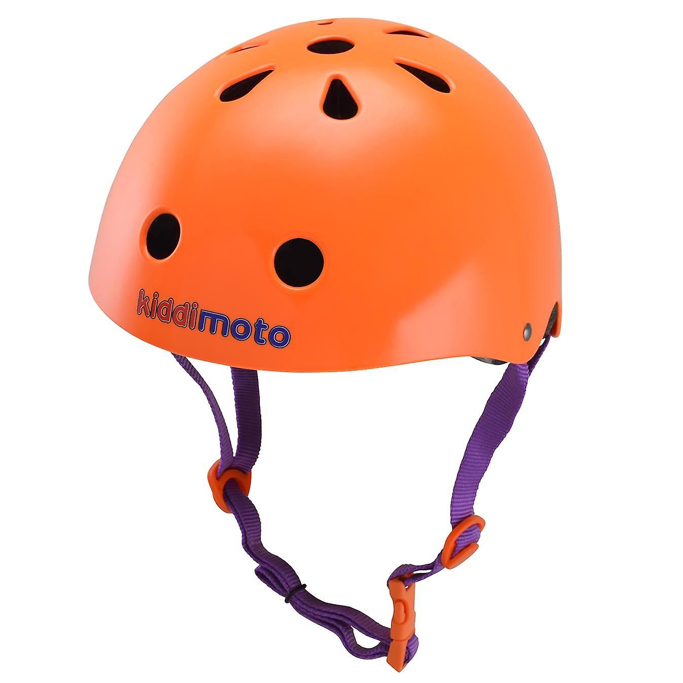 Kiddimoto Helmet Matte Orange
