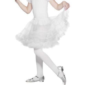 Barn underkjol, vit