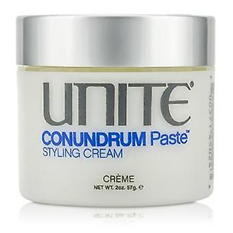 Unite Conundrum Paste (styling Cream) - 57g/2oz