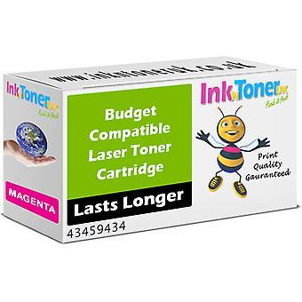 Kompatibel OKI 43459434 Magenta 43459434 patron för Oki C3300n