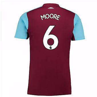 2017-18 West Ham Home Shirt (Moore 6) - Kids