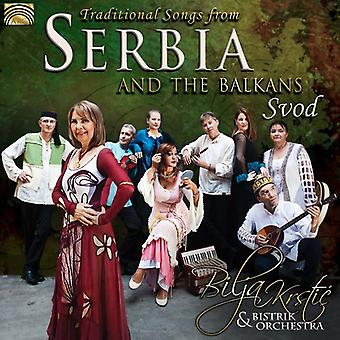 Krstic, Bilja / Bistrik Orchestra - traditionele liederen uit Servië & de Balkan - Svod [CD] USA import