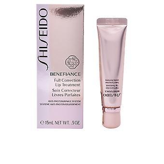Shiseido Benefiance correzione completa trattamento labbra 15 Ml per le donne