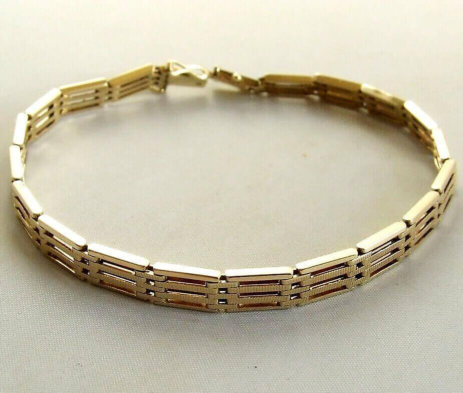 Occasion 14 karaat geel gouden armband