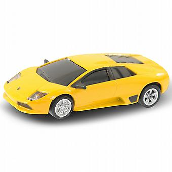 Official Lamborghini Murcielago Car USB Memory Stick 4Gb - Yellow