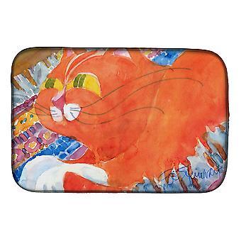 Carolines Treasures  6033DDM Cat Dish Drying Mat