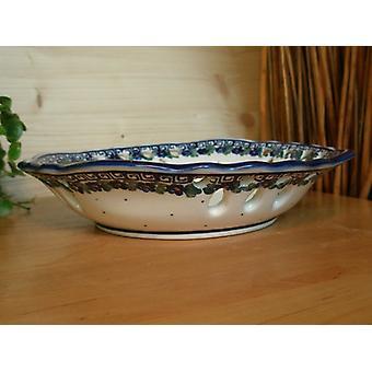 Bowl with gebrochem edge, unique 52 - BSN 0155 Ø 23 cm, 5 cm high,