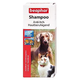 Beaphar Anti-Itch Shampoo For Dogs & Cats 200ml MSM Helps Strengthen Hair