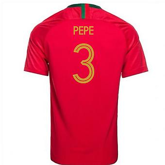 2018-2019 Portugal Accueil maillot de foot Nike (Pepe 3) - Kids