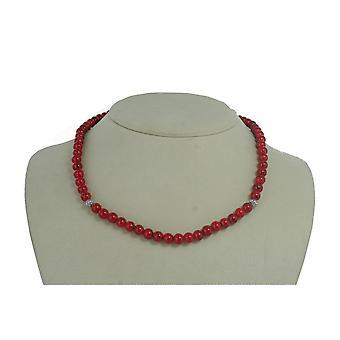 EDC av esprit damer kedja rostfritt stål röd EENL10309A420