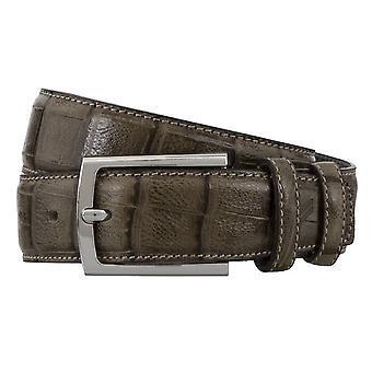 DANIEL HECHTER belts men's belts leather belt Brown 4860