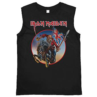 Amplificado Iron Maiden Trooper en corcel sin mangas
