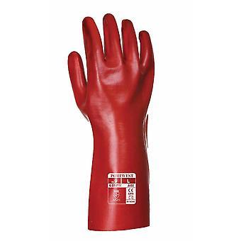 Portwest - Aqua Grip PVC Covers Mid Forearm Gauntlet (1 Pair Pack)