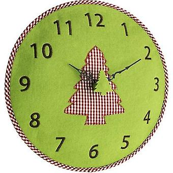 TFA Dostmann 60.3025.04 Quartz Wall clock 330 mm x 40 mm Green