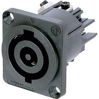 Neutrik NAC3MP-HC netstik NAC Series (netstik) NAC socket, lodret lodret samlet antal stifter: 2 + PE 32 en sort 1 pc (s)