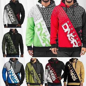 Men's Hooded Sweater DNGRS Hoody Sweat Shirt Longsleeve with Logo Streetwear