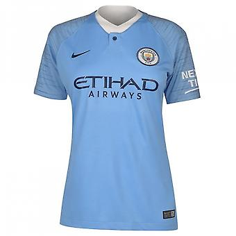 2018-2019 Man City Home Nike Ladies Shirt
