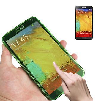 Mobile Shell flip Kruis voor mobiele Samsung Galaxy Aanraking 3 groen