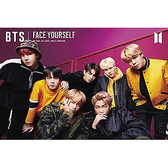 BTS Face Yourself Poster Print