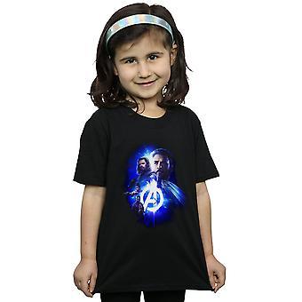 Marvel Avengers Infinity Krieg Cap Bucky Mädchenmannschaft bis T-Shirt