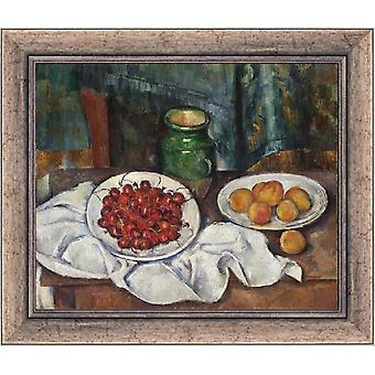 Avec Ram Cherries and Peaches, Henri Rousseau, 61x51cm