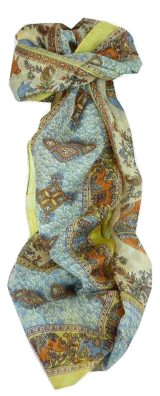 Mulberry Silk Traditional Long Scarf Rei Gold by Pashmina & Silk