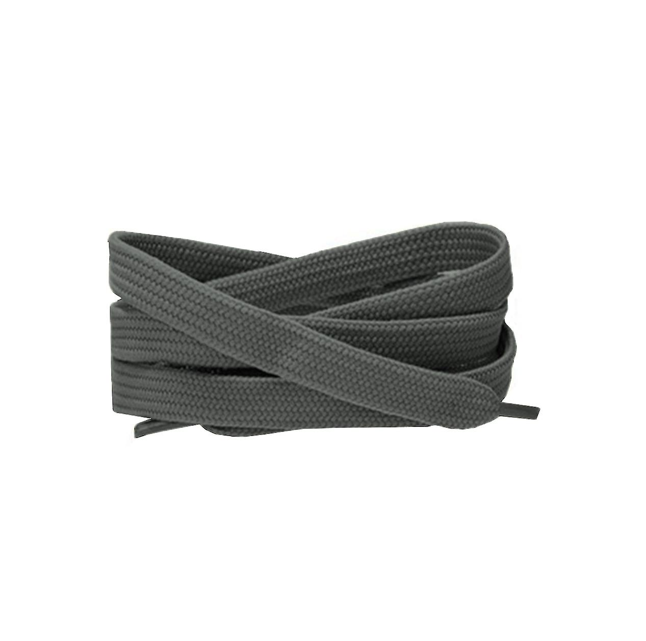 Grey Flat Trainer Laces