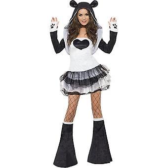 Лихорадка Panda платье костюм, Великобритания 12-14