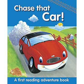 مطاردة السيارة! -كتاب مغامرة قراءة أولى من قبل نيكولا باكستر-Pe