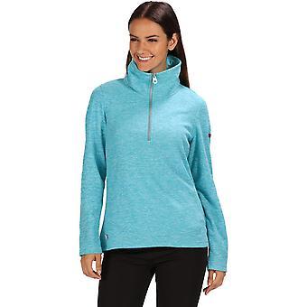 Regatta Womens Fidelia Half Zip Polyester Marl Sweater