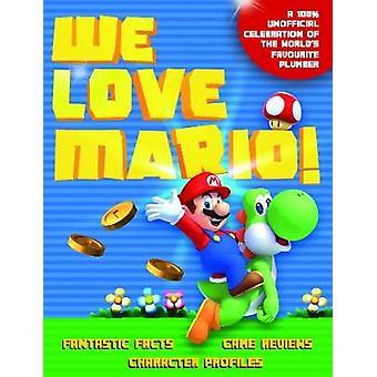 We Love Mario by We Love Mario - 9781787392205 Book