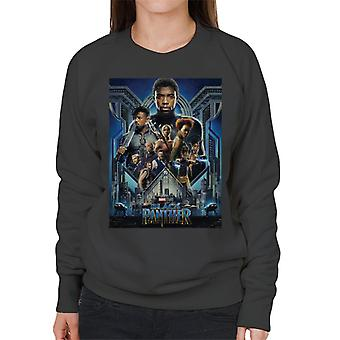 Marvel Black Panther Movie Poster Women's Sweatshirt