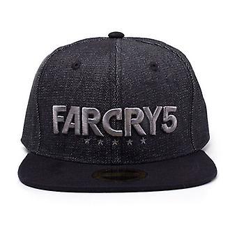Far Cry 5 - Black Denim Logo Snapback (SB215588FAR)