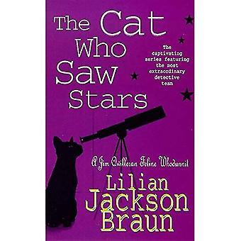 De kat die zag sterren (een Jim Qwilleran Feline moordenaar)