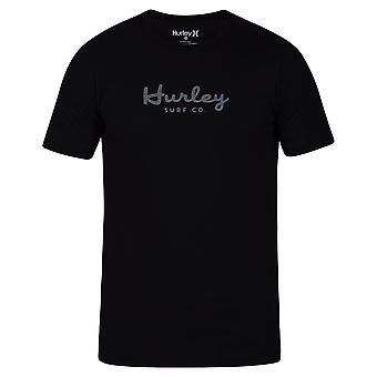 Hurley Men's T-Shirt ~ Dri-Fit Script black
