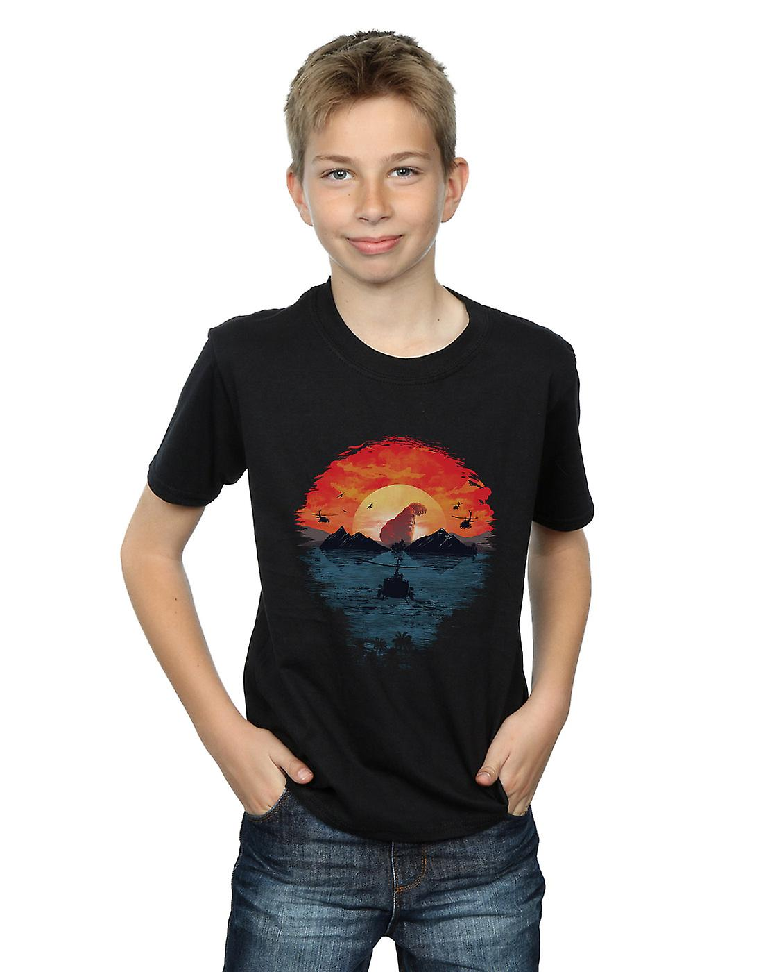 Dan Dingeroz Boys Skull Island T-Shirt