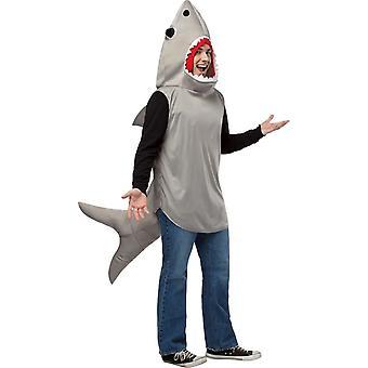 Grauer Hai Kostüm