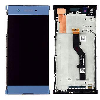 Sony Display LCD Komplett Einheit für Xperia XA1 Plus 78PB6100030 Blau Ersatzteil Neu