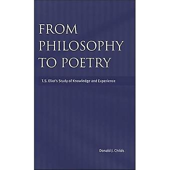 From Philosophy to Poetry Ts Eliots Study of Knowledge and Experience by Childs & Donald J.