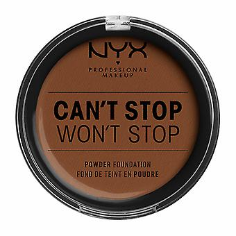NYX PROF. MAKEUP Can't Stop Won't Stop Powder Foundation - Mocha