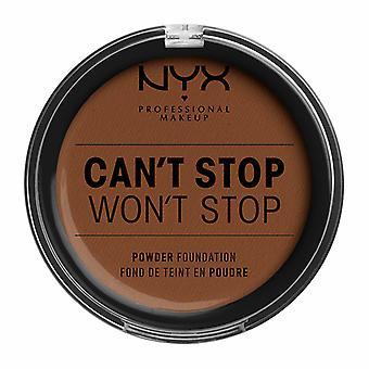 NYX PROF. MAKEUP Kann ' t stoppen Won ' t stop Powder Foundation-Mocha