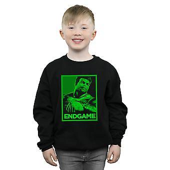 Marvel Boys Avengers Endgame Hulk Poster Sweatshirt