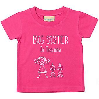 Storasyster i utbildning tvillingar Tshirt