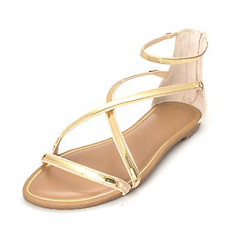 Bar III Womens Victoria Open Toe Casual Slide Sandals