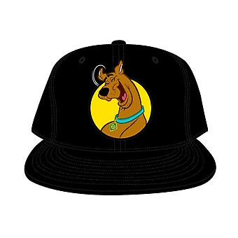 Scooby-Doo Black Snapback Cap