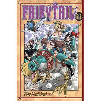 Fairy Tail 11 by Hiro Mashima - 9781612622828 Book
