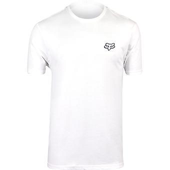 Fox Racing Mens Patriot SS Premium T-Shirt - Optic White