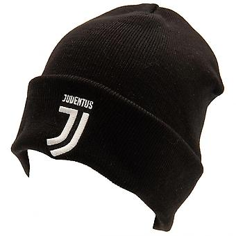 Juventus FC Official Adults Unisex Turn Up Knitted Hat