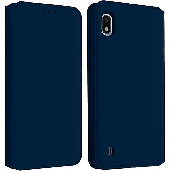 Classic Edition stand case with card slot for Samsung Galaxy A10 - Dark blue