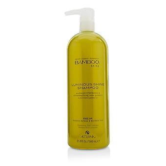 Γυαλάκι από μπαμπού με λάμψη και λαμπερό σαμπουάν (για ισχυρά γυαλιστερά μαλλιά)-1000ml/33.8 oz